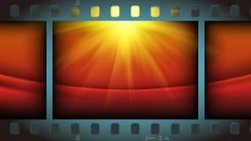 röda filmer för bakgrundsfilmlampa Arkivfoton