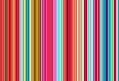 Röda, gröna, violetta, orange, blåa vita linjer, abstrakt färgrik bakgrund Royaltyfri Foto