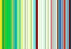 Röda, gröna, violetta, orange vita linjer, abstrakt färgrik bakgrund Arkivbild