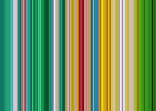 Röda, gröna vita linjer, abstrakt färgrik bakgrund Arkivbild