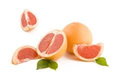 röda grapefrukter Arkivfoto