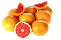 röda grapefrukter Arkivbilder