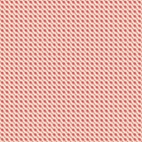 Röda gula diagonala krabba band Royaltyfria Foton
