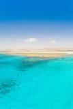 Röda havetdag Fotografering för Bildbyråer