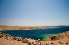 Röda havetkust Royaltyfri Fotografi