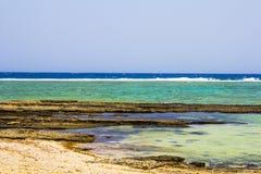 Röda havetstrandRöda havet Egypten Arkivbilder