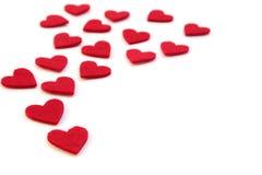röda hjärtor