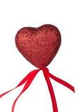 Röda hjärtor en Arkivfoton