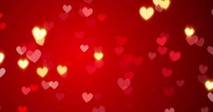 röda hjärtor lyckliga valentiner för bakgrundsdag royaltyfri illustrationer