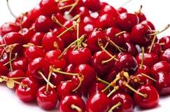 Röda körsbär Royaltyfri Foto