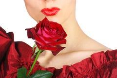 röda kanter Royaltyfria Bilder