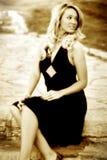 röda klänningjess Royaltyfri Fotografi