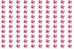 röda konstgjorda blommor royaltyfri fotografi