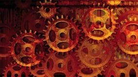 Röda kugghjulhjul