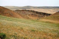 röda kullar Arkivbilder