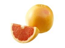 röda läckra grapefrukter royaltyfria foton