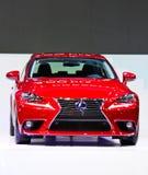 Röda Lexus Arkivfoton