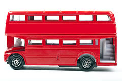 Röda London bussar Royaltyfria Bilder