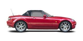 Röda Mazda MX5 Arkivfoto