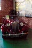Röda MG 1952 TD Royaltyfria Bilder