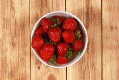 Röda mogna jordgubbar Royaltyfri Bild
