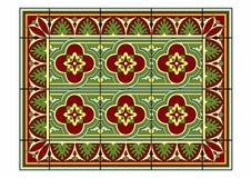 Röda och gröna modeller Royaltyfria Bilder