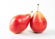 röda pears Royaltyfri Bild