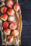 röda persikor Royaltyfri Fotografi