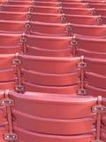 röda platser Arkivfoto