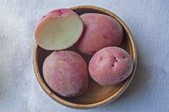 Röda potatisar Arkivfoto