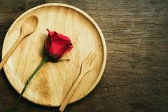 röda ro Royaltyfria Foton