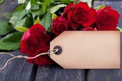 Röda rosor Royaltyfri Foto