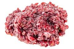 Röda Ruby Crystal royaltyfria bilder