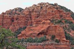 Röda Sedona AZ- vaggar 04 Arkivbilder
