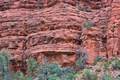 Röda Sedona AZ- vaggar 02 Arkivfoton