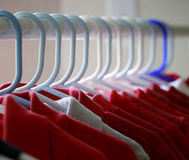 röda skjortor t Royaltyfria Bilder