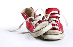 röda skor Royaltyfria Bilder