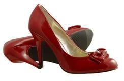 röda skor Royaltyfri Fotografi