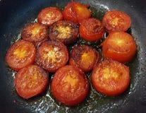 Röda stekte tomater Royaltyfria Foton
