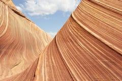röda stenar Arkivfoto