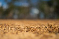 Röda stenar Australien för bakgrund Arkivfoto