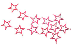 röda stjärnor Royaltyfria Foton