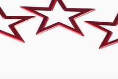 röda stjärnor Royaltyfri Foto