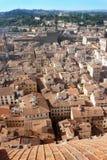 Röda tak av Florence Royaltyfri Foto