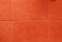 röda tegelplattor arkivbild