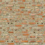 Tegelstenväggen texturerar. arkivbilder