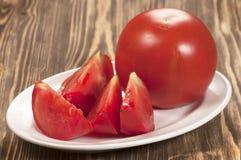 röda tomater Arkivbild