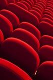 Röda tomma platser Royaltyfri Bild