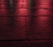 Röda våta förberedande kvarter Royaltyfri Foto