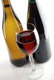 röda vita wines Royaltyfria Foton